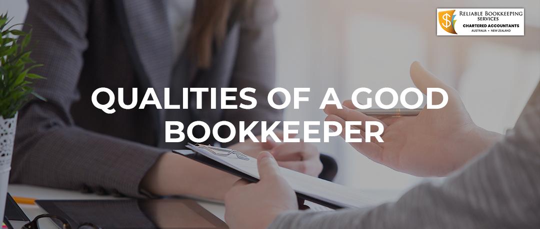 qualities of bookkeeper