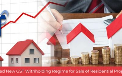 Updated New GST Withholding Regime for Sale of Residential Properties