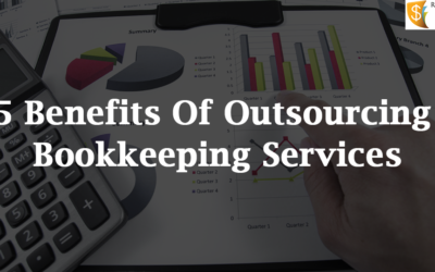 5 Benefits Of Outsourcing Bookkeeping Services