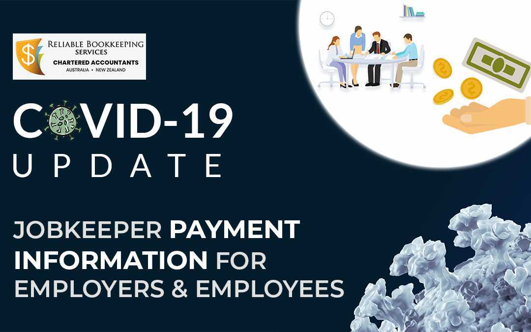 JobKeeper Payment Information for COVID-19 Affected Employers and Employees