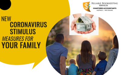 COVID-19 Update: New Coronavirus Stimulus measures for your Family