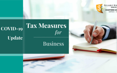 COVID-19 Update: Government announces new tax measures for affected business