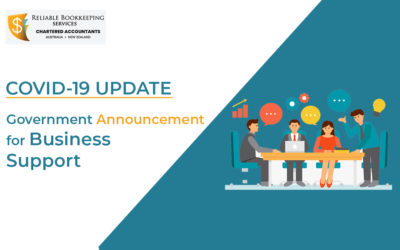 Government Announcement for Business Support : COVID-19 Update