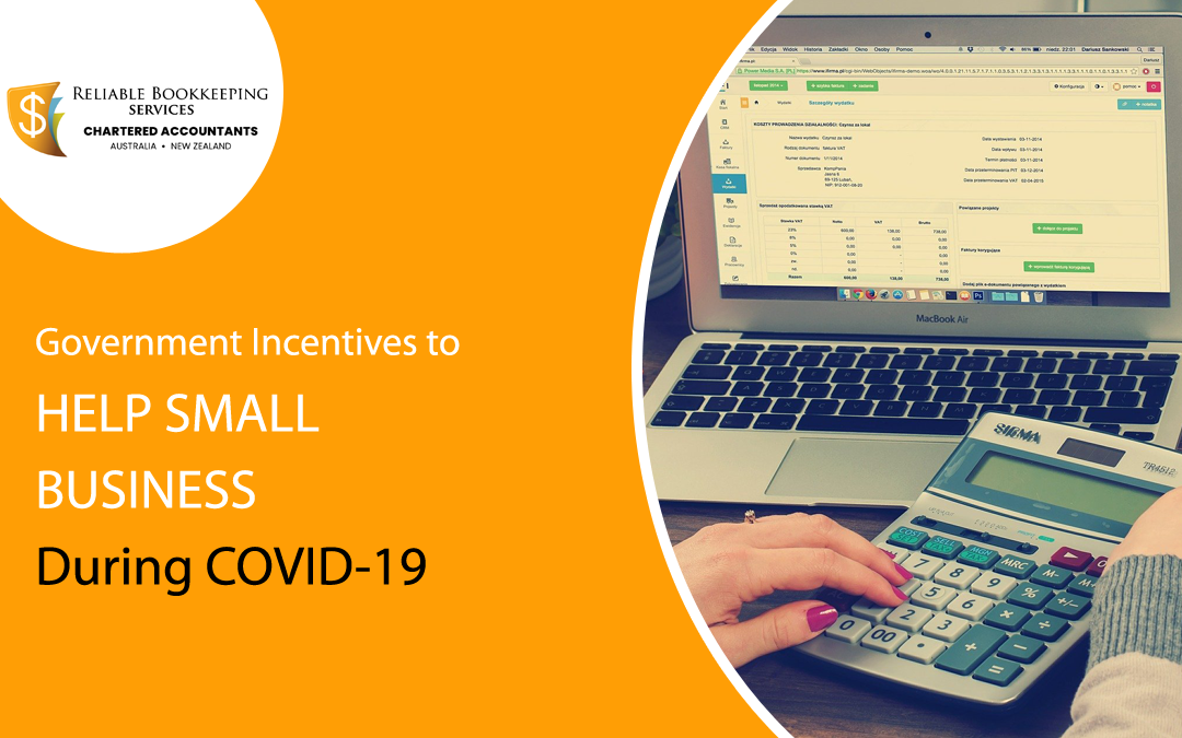 Government Incentives to Help Small Business During COVID-19