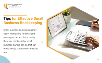 Tips for Effective Small Business Bookkeeping
