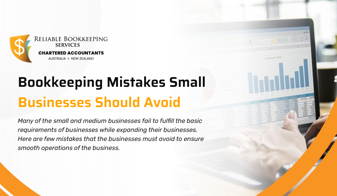 Bookkeeping Mistakes Small Businesses Should Avoid