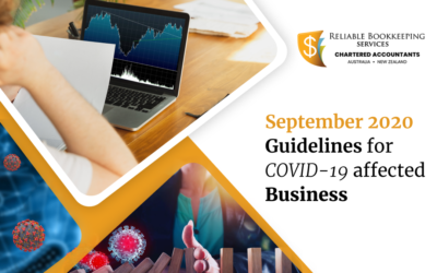 September 2020 Guidelines for COVID-19 affected business