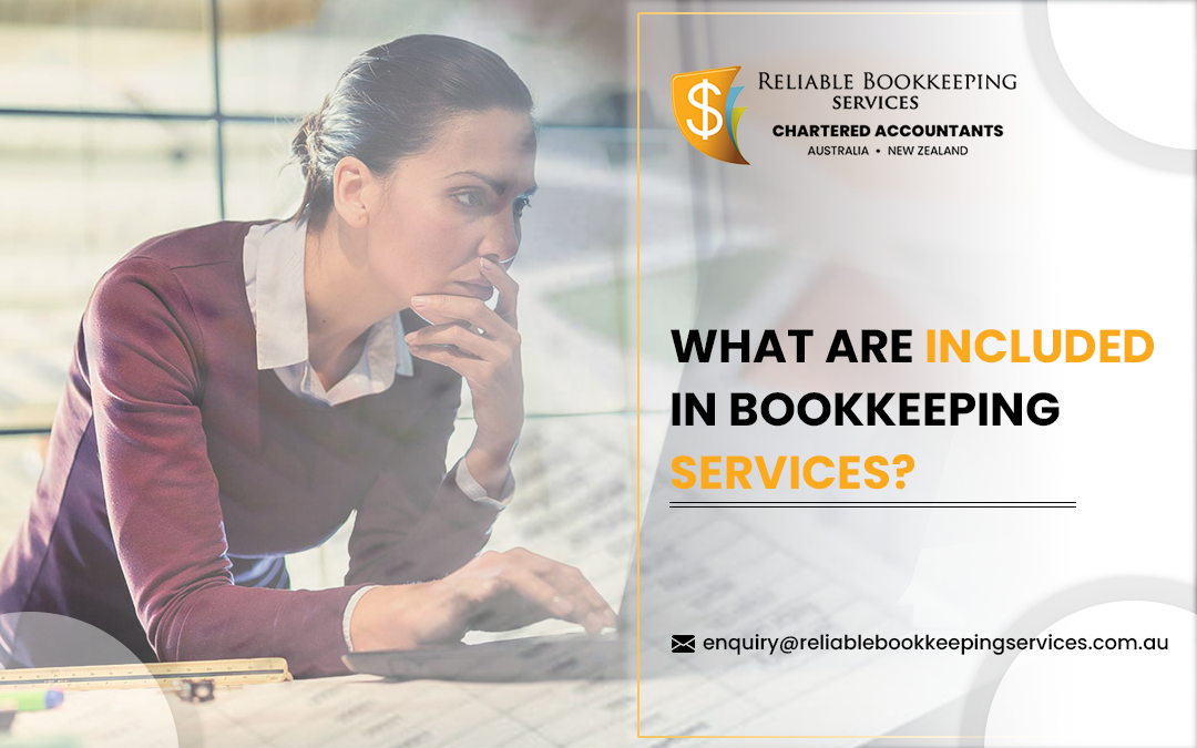 What are included in Bookkeeping Service?