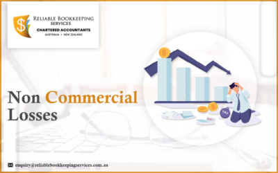 What are Non commercial losses?