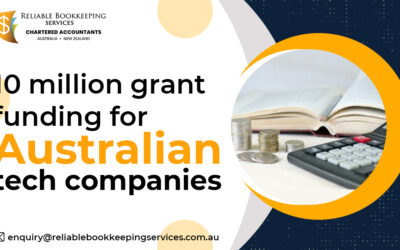 10 million grant funding for Australian tech companies