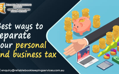 Best ways to separate your personal and business tax