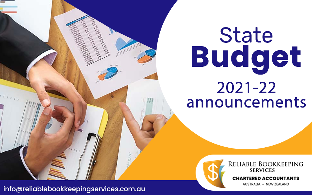 State Budget Announcements 2020-2021
