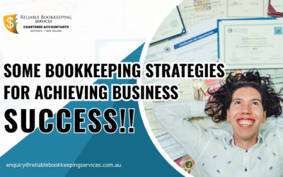 Some bookkeeping strategies for achieving business success