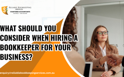 What Should You Consider When Hiring a Bookkeeper for Your Business?
