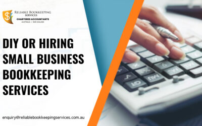 DIY or Hiring Small Business Bookkeeping Services