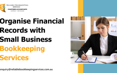 Organise Financial Records with Small Business Bookkeeping Services