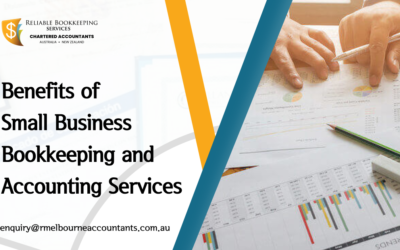 Benefits of Small Business Bookkeeping and Accounting Services